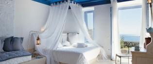 O colectie de dormitoare albastre