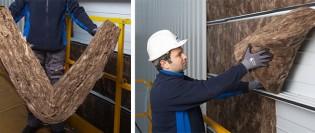 Ecose, soluția ideală pentru izolarea clădirilor metalice