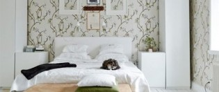 Extra spațiu de depozitare chiar și într-un dormitor foarte mic