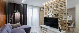 Un apartament modern, cu multă personalitate