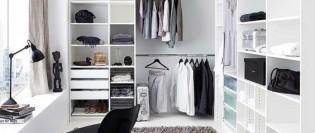 Dulapul de haine – cum să-l compartimentezi inteligent