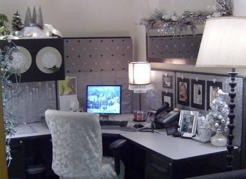 idei despre cum sa-ti decorezi biroul de Carciun (1)