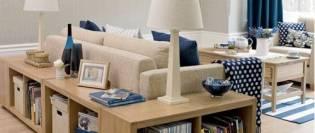canapele cu rafturi