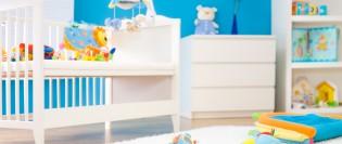 Culorile si camera bebelusului Tutti Bambini