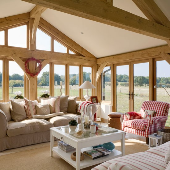 Rustic Ranch Interior Design: Exterior Rustic, Interior Elegant