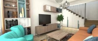 Duplex in stil modern