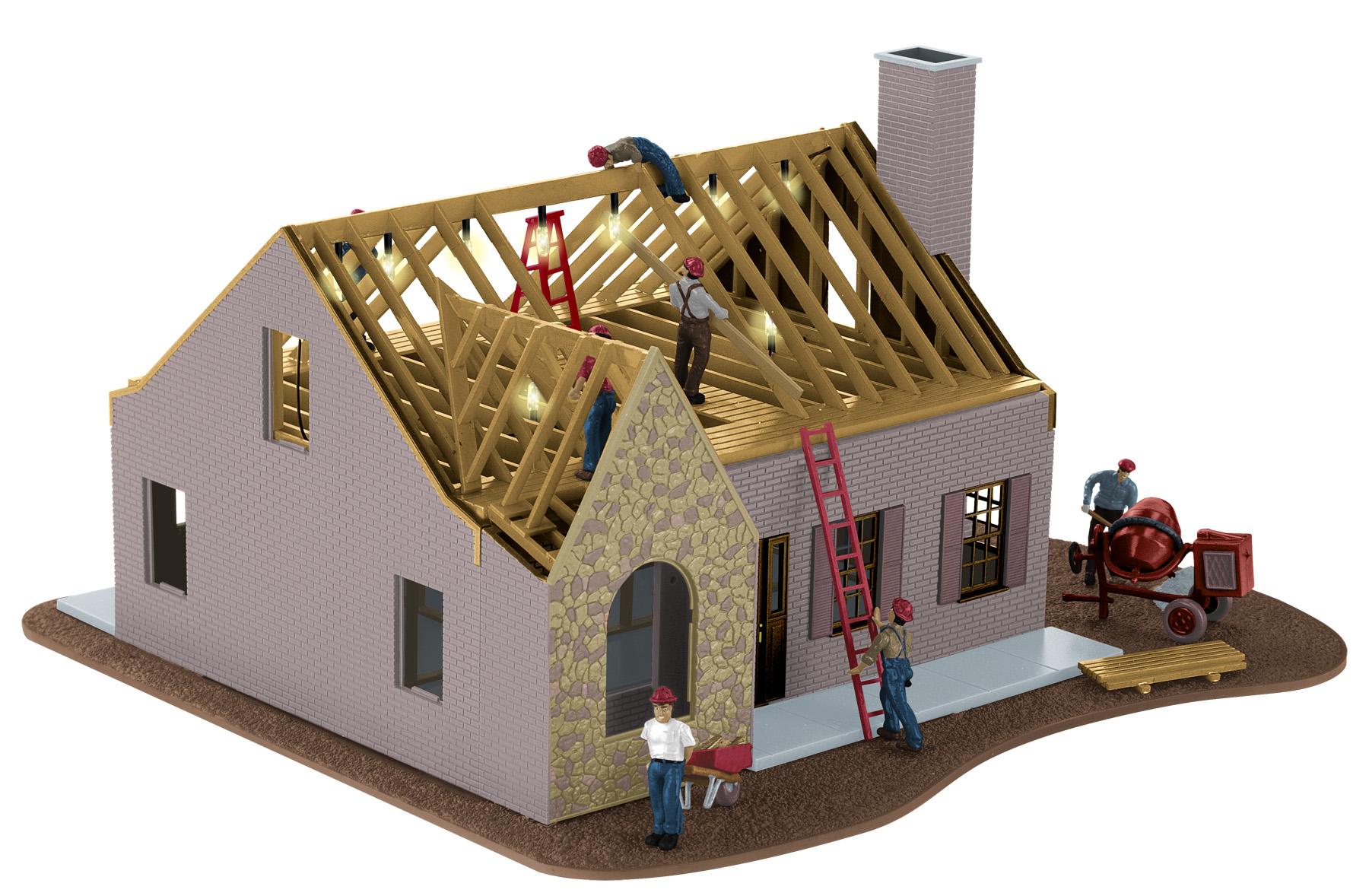 Construie ti o cas iat 10 materiale i accesorii de for House models for construction